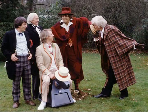 PODCAST 014: DOCTOR WHO The Five Doctors