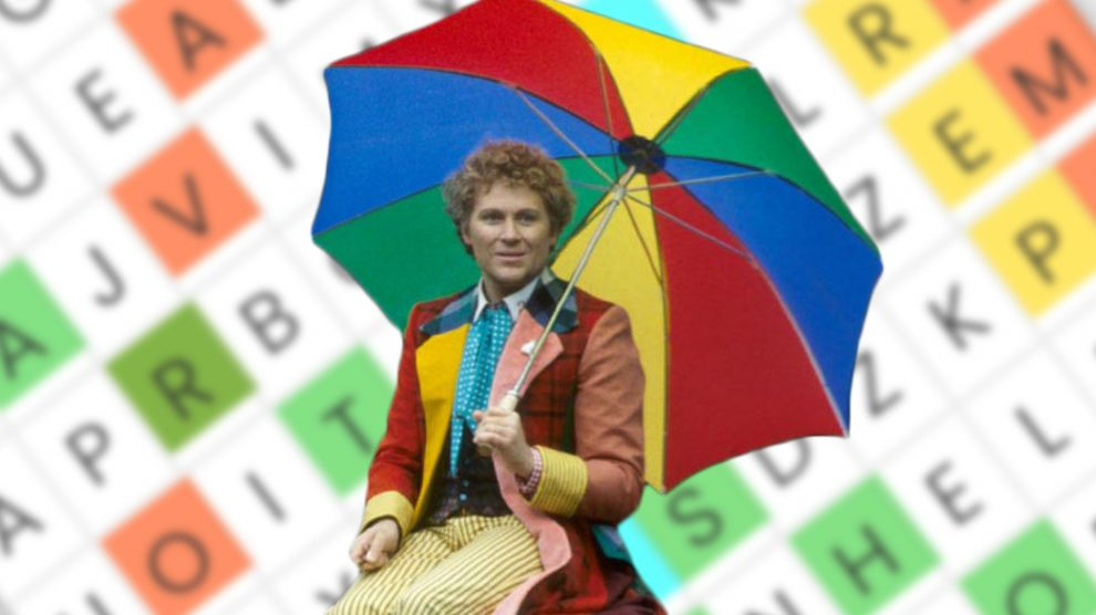 Play our DOCTOR WHO 'Sixth Doctor' Word Search!